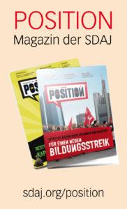 Position, Magazin der SDAJ